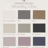 weinzierl.com - Farben von Painting the Past - Farbübersicht Shabby Chic